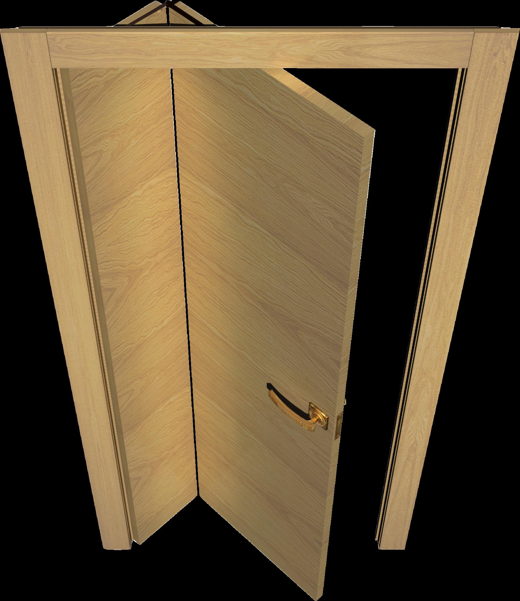 Как самому сделать складную межкомнатную дверь 24